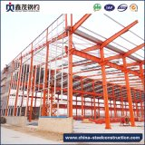 Fasten zusammengebautes vorfabriziertes Stahlkonstruktion-Gebäude für Industrie-Lager