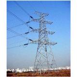 400kv送電ライン格子鋼鉄タワー