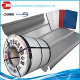 El papel de aluminio del animal doméstico cubrió la bobina en frío galvanizada de la hoja de acero