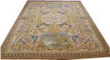 Savonnerie французский ковер бежевого цвета слоновой кости 120 линии возрождения коврик