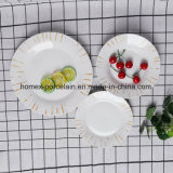Vaisselle en porcelaine de haute qualité en usine défini pour l'hôtel