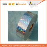 La plata la impresión de etiquetas personalizadas de la empresa de papel autoadhesivas adhesivos Holograma