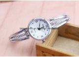 Relógios quentes do bracelete do cristal de relógio do vestido elegante das senhoras para o presente da promoção