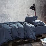 300tc lujoso edredón juego de ropa de cama de algodón