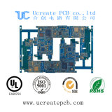 6 placa de circuito elevada de Hoz Tg da camada com BGA