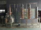 Il distillatore dell'alcool del distillatore distilla la colonna della coppella dell'unità di distillazione del gin