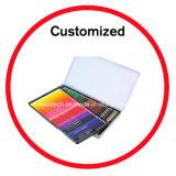 72 Farben-Bleistift-gesetzter Zinn-Kasten