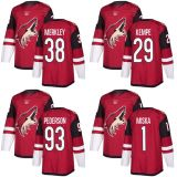Arizona Coiotes Hunter Miska Nicholas Merkley Mario Kempe Hockey camisolas