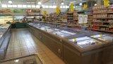 スーパーマーケットのための2.1mの島の箱のフリーザー