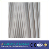 Waterproof décoratif Bathroom 3D Wood Wall Covering Panel