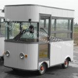 カスタマイズされるすべてのサイズのアイスクリームの軽食機械のための移動式揚げられていたアイスクリームロールトレーラーの食糧トラック