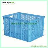 La cosecha de buena calidad de plástico HDPE ventilado Caja de fruta