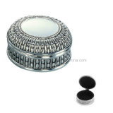 Cadre fabriqué à la main de bibelot d'argent de cadre de bijou de collier pour des filles