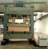 Tábua de madeira compensada de engraxamento global da linha de produção