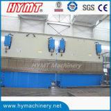 máquina de dobra em tandem hidráulica do CNC da placa 2-We67k-1000X6000 de aço