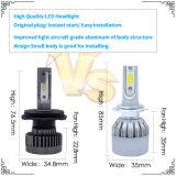 Indicatore luminoso superiore dell'accenditore LED della sigaretta dell'automobile 4800lm di nuovo disegno di Lightech con il faro di H4 LED ed i kit NASCOSTI