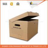 Kundenspezifischer hölzerner Papierschmucksache-Geschenk-Kuchen-Sport-verpackenbeutel-Kasten