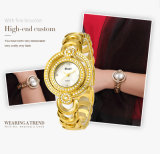 De klassieke Merknaam Belbi van de Horloges van het Roestvrij staal van de Beweging van het Kwarts van Japan van het Polshorloge van de Dames van de Vrouwen van het Embleem van de Douane van het Glas van het Ontwerp Minerale keurt OEM/ODM goed