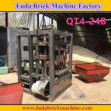 Prix semi automatique de machine de bloc de cavité du Nigéria petit Cocnrete