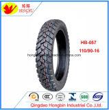 ISO9000: Motorrad-Gummireifen der Qingdao-Fabrik-110-90-16