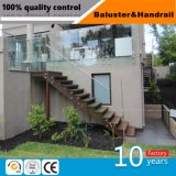 Beste Preis-Treppe und Geländer mit Glas für Haus