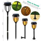 Propiedad de patentes de 1,2 W de alta calidad paisajística de la luz solar linterna LED de luz de lámpara de fuego
