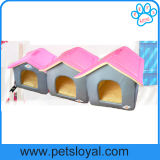 Casa da base do cão de animal de estimação dos tamanhos da venda por atacado 3 da fábrica
