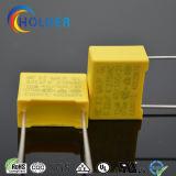 Box 0.22UF 275VAC X2 MKP polipropileno metalizado Amarelo Film Capacitor Todas as Séries Alcance RoHS