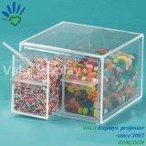 Flotten-System-Haus-Form-Süßigkeit-Kasten-Plastiksüßigkeit-Schaufel-Zufuhr-Raum-Acrylsüßigkeit-Sortierfach