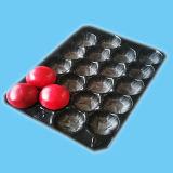 Adequado para diversas frutas descartáveis de plástico PP frutas bandeja com separadores
