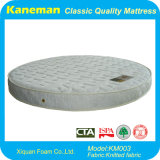 Emballage comprimé de matelas de mousse d'utilisation de maison de forme ronde de meubles de chambre à coucher