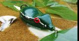 Señuelo suave de los pescados del negro de la rana de la pesca del señuelo del señuelo de la rana del gel de silicona