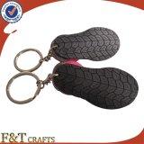 Кожа Keychain формы ботинка высокого качества способа (FTLK1308A)