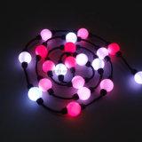クリスマスのための360度の観覧LEDの球のカーテンライト