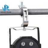 Support en aluminium lourd d'éclairage d'étape (noir) bride de 2 pouces pour la lumière de la tête Light/PAR/projecteur mobiles, tuyauterie des ajustements 48-51mm OD