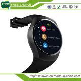 Kw18 Vigilância inteligente Bluetooth Suporte telefônico TF Smartwatch Cartão SIM