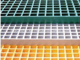 Grille moulée par FRP/Fiberglass multicolore avec la surface lisse