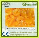 Remplir les conserves de ligne de traitement d'Orange