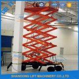 Plate-forme de fonctionnement aérienne hydraulique de ciseaux