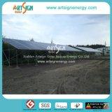 Abri de l'acier de structure solaire PV parc de stationnement de voiture Système solaire 01