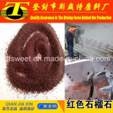 サンドブラスティングおよびWaterjet切断のための赤いガーネット砂
