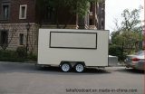 フライヤーの食糧カートの移動式コーヒー食糧トレーラーのハンバーガーのカート