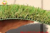 Tappeto erboso sintetico dell'erba della decorazione interna del PE di quattro colori