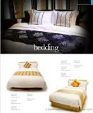 100% coton Plain White Hotel Bedding Sets