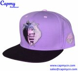 Nueva llegada púrpura ajustable tapa Snapback Proveedor