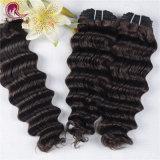 Venda por grosso 8A Onda profunda de tafetá Cabelo Virgem brasileira de cabelo humano
