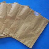 工場は直接上塗を施してある防水クラフト紙のフルーツの保護袋のマンゴカバーにワックスを掛ける