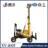 perforadora de la perforación de la profundidad Xy-400f de los 400m para la exploración del suelo