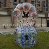 Sfera Bumper del corpo di formato dell'adulto 2016, sfera Loopy, sfera della bolla del PVC per gioco del calcio D5100