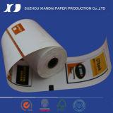 Die meiste populäre 80mm x 80mm Qualität thermische ATM-Papier-Rollen-NCR-ATM-Papier-RollenWincor ATM-Papier-Rollen-ATM-Empfangs-Papier-Rollen-ATM-Positions-Papier-Rolle